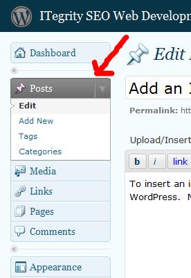 Wordpress Add a Post