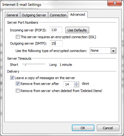 Dreamhost pop3 setup in outlook itegrity - Smtp and pop3 port number ...