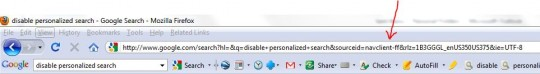 disable-google-personalized-search